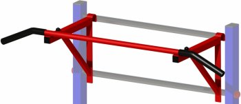 Навесной турник Kampfer KSW professional Crossbar Outdoor ― Kampfer